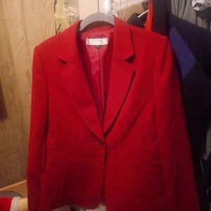 Tahari blazzer suit